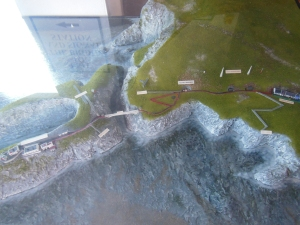 A miniature view of the setting.